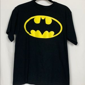 Batman black tee shirt size XL(14-16)